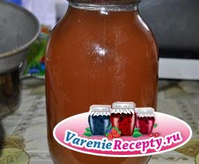 Сок из ананасного винограда