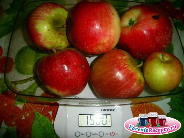 Яблочный Варенье Рецепт На Зиму