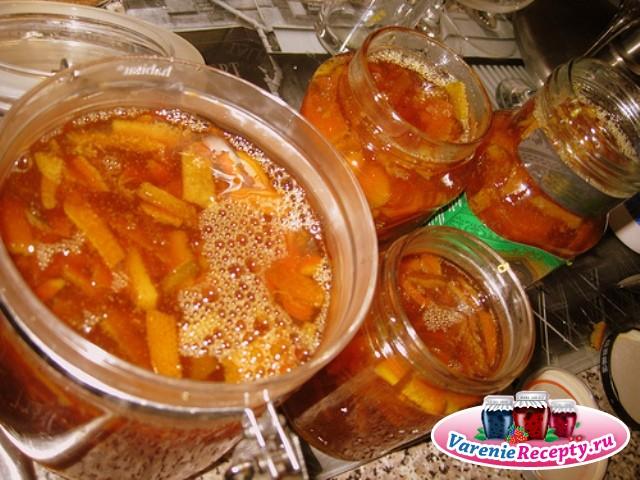 Варенье из апельсиновых корок рецепт с фото пошагово