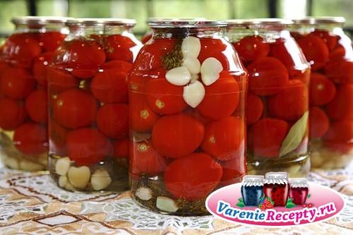 Как мариновать помидоры рецепт с фото