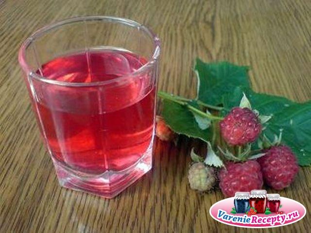 Ликер из малины в домашних условиях простой рецепт на спирту