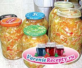 Салат из капусты на зиму «Витаминный»