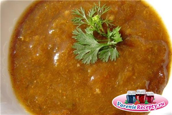 рецепт приготовления соуса из алычи