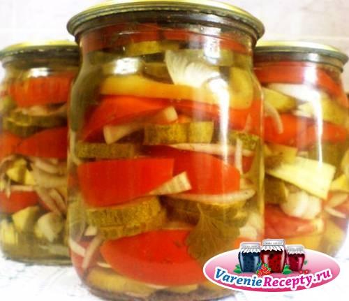 Какие заготовки можно сделать из помидоров и огурцов